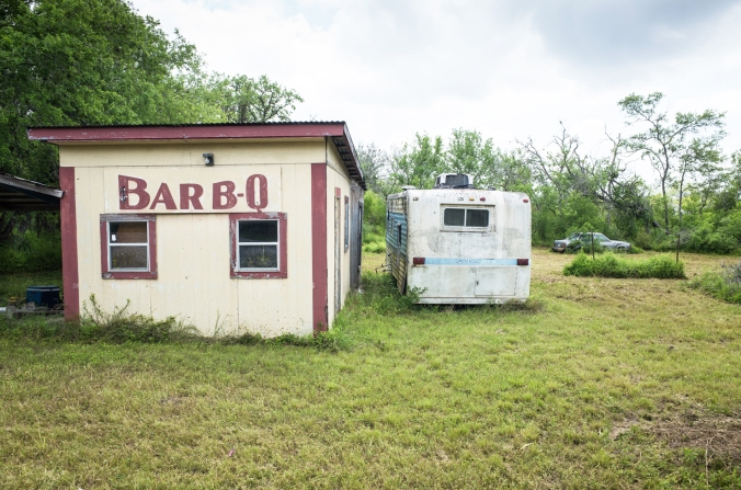 AbandonedPhoto of BBQ Rest, near Beeville, Tx.