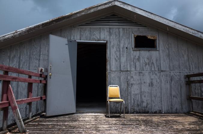 Abandoned structure. Labadieville, La.