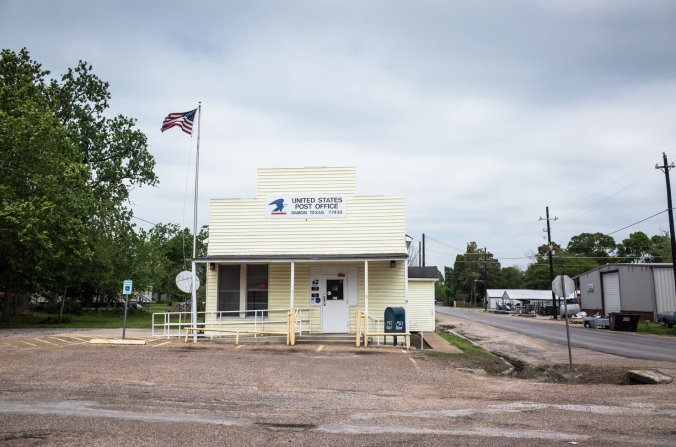 Photo of post office, Damon, Tx/